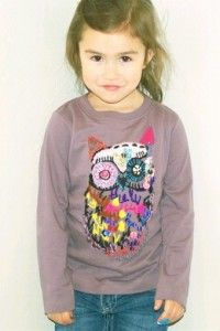 Embroidery Long Sleeve T-Shirt for Girls by Soft Gallery