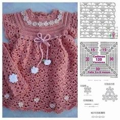 Lory Crochê: Vestidos para Meninas (MODELOS)