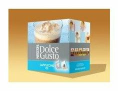 DOLCE GUSTO CAPPUCCINO ICE CAPSULES 64 COUNT - http://hotcoffeepods.com/dolce-gusto-cappuccino-ice-capsules-64-count/