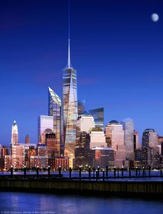 New NYC Skline, with One World Trade Center (1WTC) | 541m | 1776ft | 104 fl | T/O - SkyscraperCity ☮k☮ #architecture