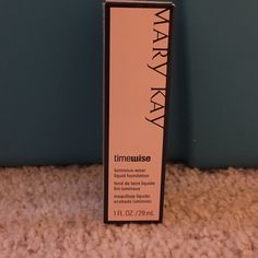 Mary Kay Timewise foundation The liquid foundation is super light and matches your skin tone perfect. I break out a lot from other products but Mary Kay is the only one that doesn't. I do have other colors let me know which one your looking for. Mary Kay Makeup Foundation
