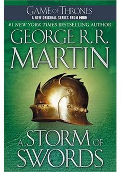 A Storm of Swords - the third book, just as fantastic as the first two.