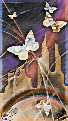 ☮Butterfly Abstract/JLB