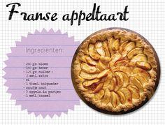 Franse appeltaart