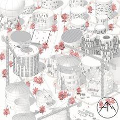 Rappresentazione assonometrica di un progetto di Riqualificazione Silos ----- #architecture #rendering #Architettura #render #3dmodel #design #architect #nofilter #drawing #inspiration #art #concept #rappresentazione #arketipo ----- website: alessandromartinelli.com ----- Autore @_alessandro_martinelli_