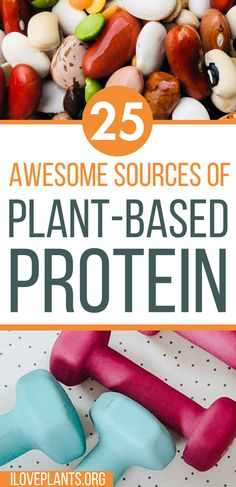 25 Totally Awesome Sources Of Plant-Based Protein The healthiest plant based vegan protein out there! Get lean and build muscle on a plant-based vegan diet eating ONLY whole foods and plant based protein. Whole Plant Based Diet, Plant Based Vegan Diet, Plant Based Nutrition, Vegan Nutrition, Nutrition Tips, Vegan Protein Sources, Vegan Protein Powder, Whole Food Diet, Whole Food Recipes