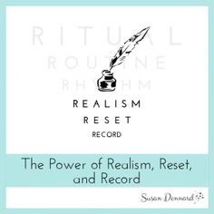 Increase Your Writing Productivity: the power of realism, reset, and record | Susan Dennard