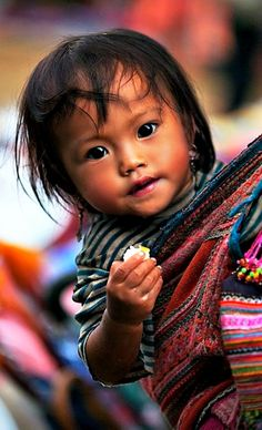 "Yes, I would certainly agree ""the eyes have it"" and thank you. No, sincerely, thank you.(bh) Nepal."