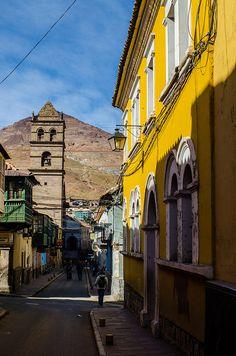 Potosi, Bolivia. WHere my grandpa was born :)