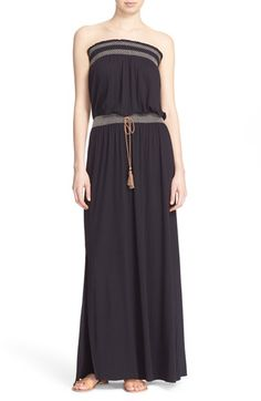 Soft Joie 'Dillian' Embroidered Maxi Dress