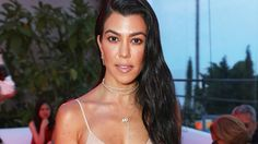 Kourtney Kardashian Swaps Underboob for Sideboob in Latest Swimsuit Selfie