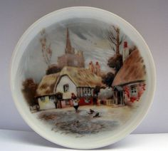 Vintage West Germany AK Kaiser Porcelain Plate Village by mish73, £4.50