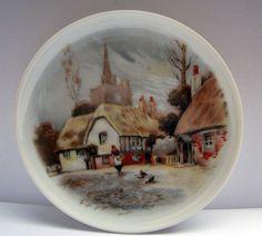 Vintage West Germany AK Kaiser Porcelain Plate Village by mish73, £4.50