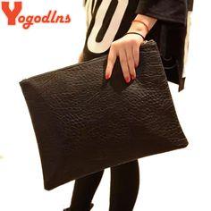 Aliexpress.com: Kúpiť Yogodlns nové vysoko kvalitné Women Clutch Bag Módne PU kože Kabelky klapka taška cez rameno Ladies messenger tašky crossbody peňaženka zo spoľahlivých dodávateľov taška nástrojov pre Hanna Fashion Co., Ltd.
