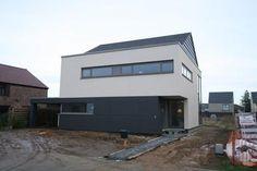 Architect Jessi Decsi - moderne woning houtskeletbouw lanaken met praktijk architect jessi decsi 01