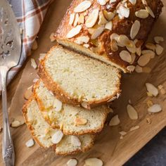 This quick bread is so moist and full of flavor. The orange almond glaze makes it irresistible!
