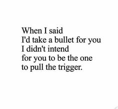 I'm bleeding and you're telling me to just get over it.