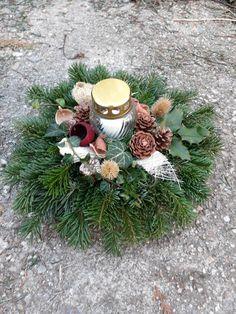 Christmas Wreaths, Holiday Decor, Home Decor, Ornaments, Xmas, Flowers, Noel, Cemetery Decorations, All Saints Day