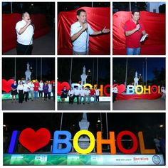 We are happy to present the Unveiling Ceremony of the I ♡ BOHOL Signage with the Provincial Government of Bohol VIPs headed by Gov. Edgar M. Chatto, Tagbilaran City Administrator Edi Borja, Save 'n Earn Wireless CEO Raymond Roldan, Mrs. Ardy Batoy of the Bohol Tribune and Ms. Sonieta Labasan of the Bohol Chronicle.