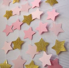 Vintage Star Wreath Pink gold ballerina party princess party first birthday party twinkle twinkle star - - Baby Birthday, First Birthday Parties, First Birthdays, Ballerina Party, Vintage Star, Simple Birthday Decorations, Diamond Party, Girl Themes, Twinkle Twinkle Little Star