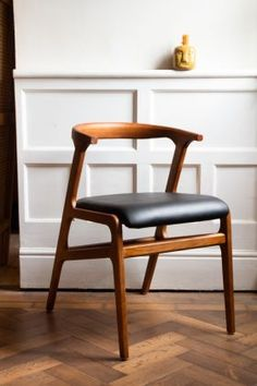 Leather, Fabric and Wooden Dining Chairs | Rockett St George Faux Leather Dining Chairs, Vintage Dining Chairs, Wooden Dining Chairs, Mid Century Dining Chairs, Dining Room Furniture, Table And Chairs, Dressing Table With Chair, Luxury Dining Chair, Black Faux Leather