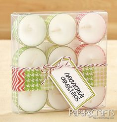 Tea Light Gift Set by @Heather Campbell