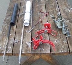Fishing Rod Stand Beach Sea Rod Ground Inserted Holder Pole Bracket Blue//Red