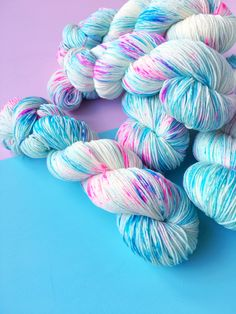 Mr Sparkle - We Love Knitting - Hand Dyed Yarn #knitting #yarn #handdyedyarn