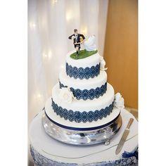 Love Match Wedding Cake Rugby Themed Wedding Cake