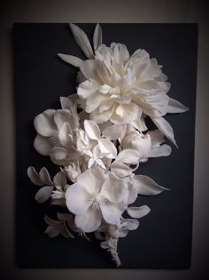 Porcelain flowers, 2014. Artist Lada Peskova