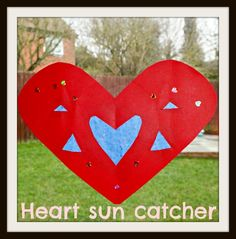 Heart arts and crafts - Very simple heart shaped crafts to do with children - Let Kids Be Kids