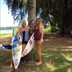 Bethany Hamilton && Alana Blanchard(: