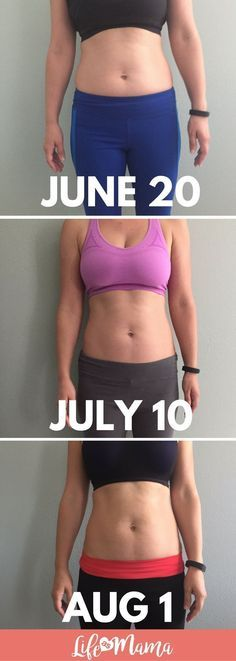 I've completed 6 weeks of ab workouts and can definitely see a huge difference! #abworkouts #abs #toneabs