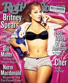 Britney Spears (1999) | The 25 Sexiest Rolling Stone Covers Of All Time