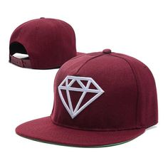 Diamonds! Snapback Hat for Men or Women - Snapback Hip Hop Cap Item Type: Baseball Caps Department Name: Adult Gender: Unisex Material: Acrylic,Cotton Pattern Type: Letter Hat Size: One Size Style: Ca