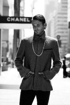 Chanel for men now sold in department stores. Fall/winter 2013