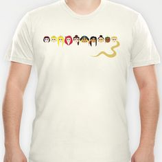 Disney Princesses T-shirt by Aurelie Scour - $18.00