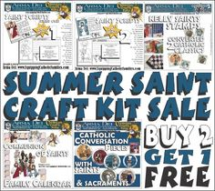 Taking on any Saint Craft Projects this summer? Here's a DEAL!