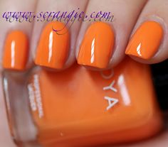 { owned } Zoya Arizona, from the Beach Collection Summer 2012 | via Scrangie. This color makes me think of mac 'n' cheese. Very close to Julep Nina and would make a great replacement, since Nina peels on me.