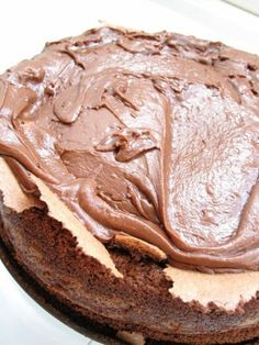 Norwegian Food, Norwegian Recipes, Pudding Desserts, Cake Recipes, Peanut Butter, Favorite Recipes, Sweets, Chocolate Cakes, Mary