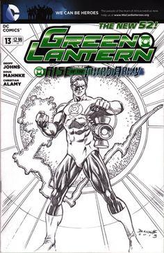 Hal Jordan Green Lantern by Darryl Banks