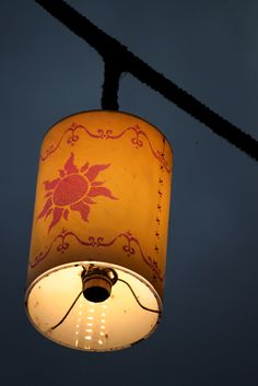 want for her room, Tangled Lantern!