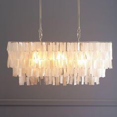 Transform Your Space Into A Tropical Oasis with Cool Capiz Chandelier: Capiz Chandelier | Capiz Chandelier | Capiz Rectangular Chandelier