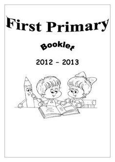 NIS English 1st Primary Booklet
