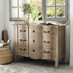 Mango wood chest of drawers W 110cm | Maisons du Monde