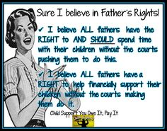 all fathers should help support their children