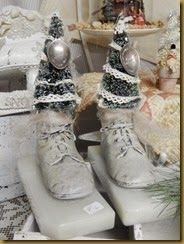 16 Best Repurpose Vintage Baby Shoes Images Antique Christmas Diy