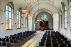 Cesky Krumlov synagogue interior