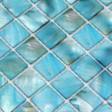 Sky Blue Mother of Pearl Tile Stained Shell Mosaic for Kitchen Backsplash Bathroom Shower Wall Tiles Tile Countertops, Mosaic Backsplash, Mosaic Wall, Mosaic Tiles, Mosaic Bathroom, Glass Tiles, Bathroom Wall, Bathroom Ideas, Floor Stickers