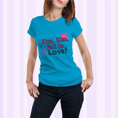 Kiss Kiss Fall In Love Women Shirt or Tank by FitnessToCosplay